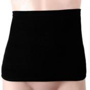 Mens Black Waist Tummy Trimmer Body Shaper Belt Size M