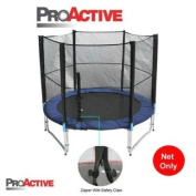 ProActive Top Grade 8ft Trampoline Safety Enclosure Netting