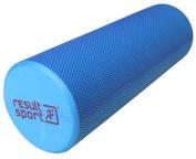 "ResultSport® EVA Foam Roller - Blue - 15cm x 45cm (6"" x 18"") - Free A3 Exercise Poster"