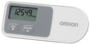 Omron Walking Style One 2.0 Stepcounter With 3 Dimensional Sensor - White/Grey