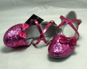 Colorfulworldstore Purple/Gold/Silver sequins of Child Girls Modern Ballroom Dance Shoes
