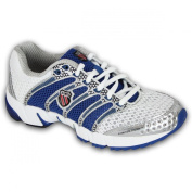 Ladies Trainers K Swiss 92243163 White Blue Size 6.5