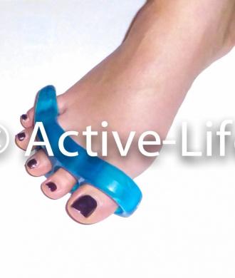 Toe Separators Stretchers Straighteners Alignment Bunion Gel Pain Relief 2pcs
