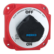 Perko 9703DP Heavy Duty Battery Disconnect Switch with Alternator Field Disconnect - 9703DP