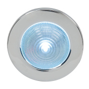 Perko Round Chrome Plated Surface Mount LED Dome Light