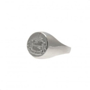 Silver Plated Crest Ring - Sunderland A.F.C