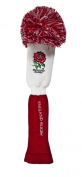 England Rugby Pompom Golf Headcover - Red/White, Fairway
