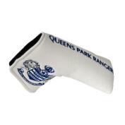 Queens Park Rangers Blade Golf Putter Cover - White/Blue