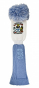 Coventry City Pompom Golf Headcover - Sky/White, Fairway