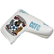 Coventry City Blade Golf Putter Cover - White/Sky