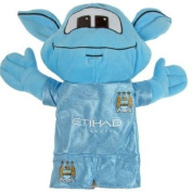 Official Manchester City FC Golf Mascot Headcover - A great gift / present for men, boys, sons, husbands, dads, boyfriends for Christmas, Birthdays, Fathers Day, Valentines Day, Anniversaries or just as a treat for and avid football fan ..