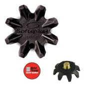 SoftSpikes - Black Widow Golf Cleat - 6mm