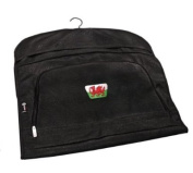 PATRIOT WALES CRESTED LEATHERETTE SUIT CARRIER BY ASBRI GOLF