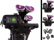 U Bolt Golf Trolley Handlebar or Frame Mount with Water Resistant Soft Case for Samsung Galaxy Ace