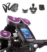 Water Resistant Golf Trolley Handlebar U Bolt Case Mount for Sony Xperia Neo