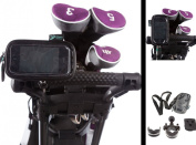 Golf Trolley U Bolt Handlebar Frame Mount with Water Resistant Case for Apple iPhone 3G / 3Gs