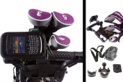 U Bolt Golf Trolley Frame & Handlebar Mount with Water Resistant Case for Blackberry Curve