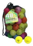 Second Chance Optic Coloured 48 Quality Lake Golf Balls