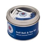 Rangers Fc Golf Ball and Tee Gift Set