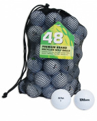 Second Chance Wilson Ultra 48 Quality Lake Golf Balls