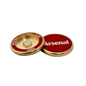 Arsenal Duo Golf Ball Marker - Red