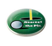 NEAREST THE PIN GOLF BALL MARKER.