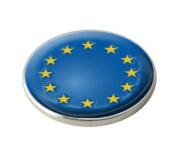 EURO EUROPE NATIONAL FLAG GOLF BALL MARKER.