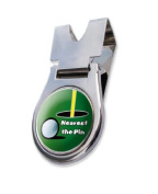 Nearest the Pin Golf Belt Clip in Presentatio Box with FREE Sherpashaw Tees
