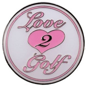 Surprizeshop Love 2 Golf (Pink) Ballmarker
