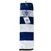 Queens Park Rangers Tri-Fold Golf Towel - Blue/White