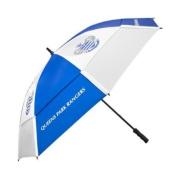 Queens Park Rangers Tour Vent Double Canopy Golf Umbrella - Blue