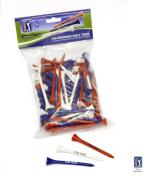 PGA Tour 100 Golf Tee - Red/White/Blue