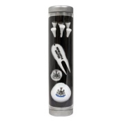 Newcastle United Golf Gift Set - Ball Marker, Ball, Tees, Pitch Fork