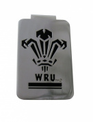 Wales Rugby Union Money Clip and Badge