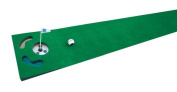 PGA Tour 1.8m Putting Mat with Guide Ball and Training Tips
