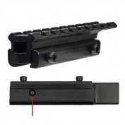 LENSOLUX Adapter rail from 11 mm to 21,5 mm - fast and easy