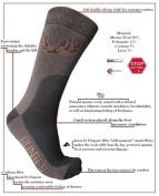 NEW! HUNTING eXPANSIVE SOCKS HUNTER BROWN Size 6-8