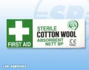 Absorbent Cotton Wool BP 25g