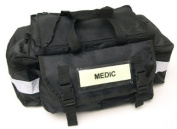 Sports On Pitch First Aid Bag - Black Unkitted