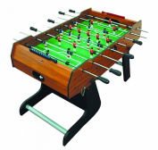 BCE Olympic 1.2m 15cm Folding Domestic Football Table - Brown
