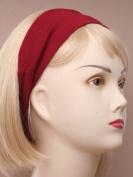 Burgundy Wide Headband IN5185