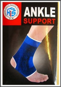 XL Elasticated Blue Ankle Support