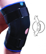 Fortuna Neoprene Hinged Knee Support - Large