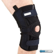 PhysioRoom Elite Mesh Hinged Knee Brace Strong Ligament Knee Support