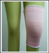 Elasticated Pink Knee Support