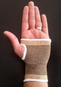 Bronze Palm Hand Wrist Support Tennis Squash Badminton