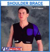 Floprene Single Shoulder Brace - Black