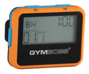 Gymboss Interval Timer and Stopwatch - ORANGE / BLUE SOFTCOAT