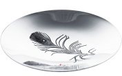 V and A Licenced Peacock Collection - Shallow 205mm Spun Pewter Bowl
