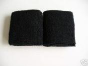 Black Wrist Sweatband